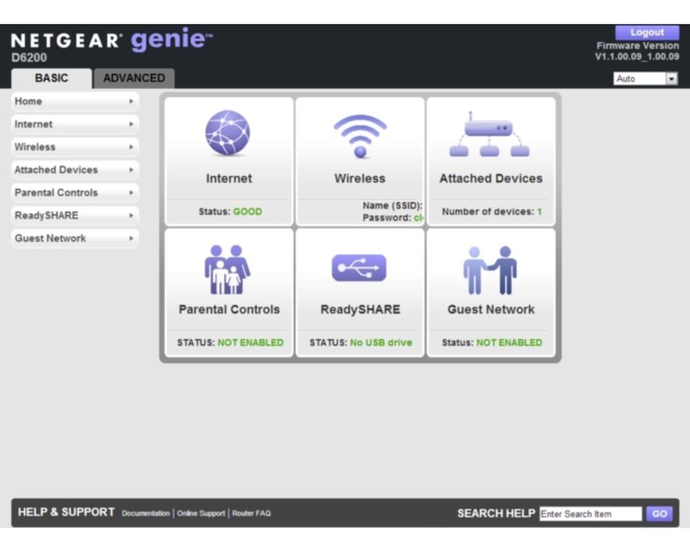 Download Firmware 1 1 00 20 for NETGEAR's D6200 Modem Router