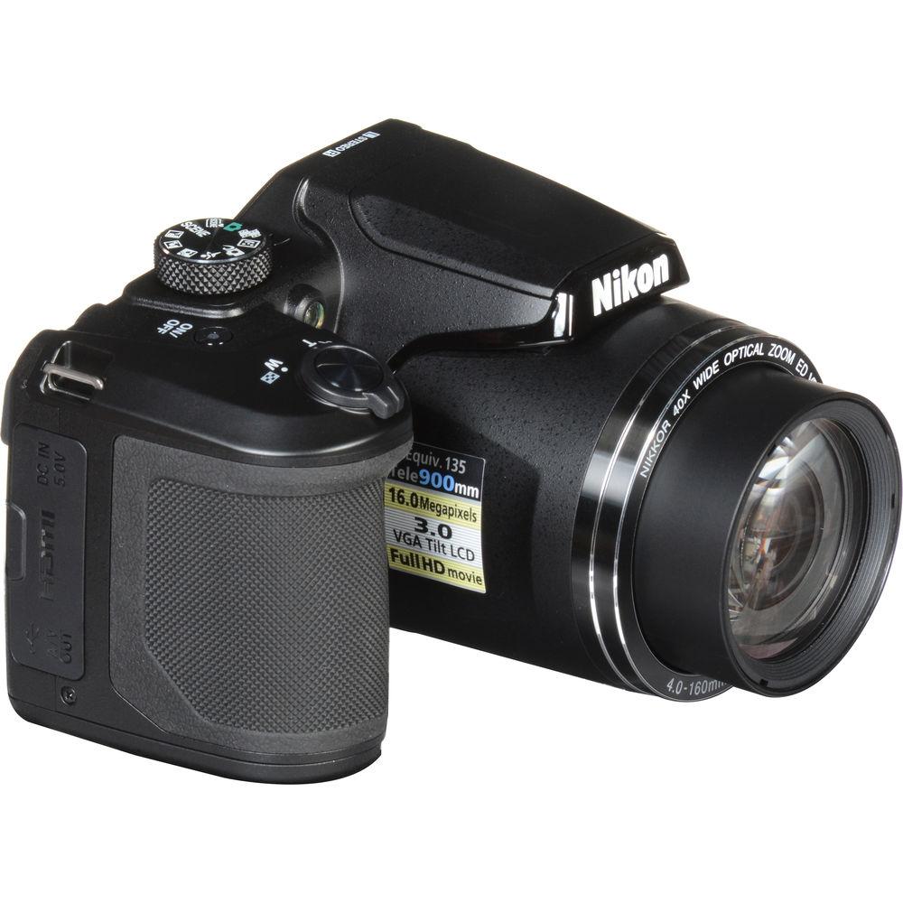 Nikon COOLPIX 885 3.2MP Digital Camera - Black