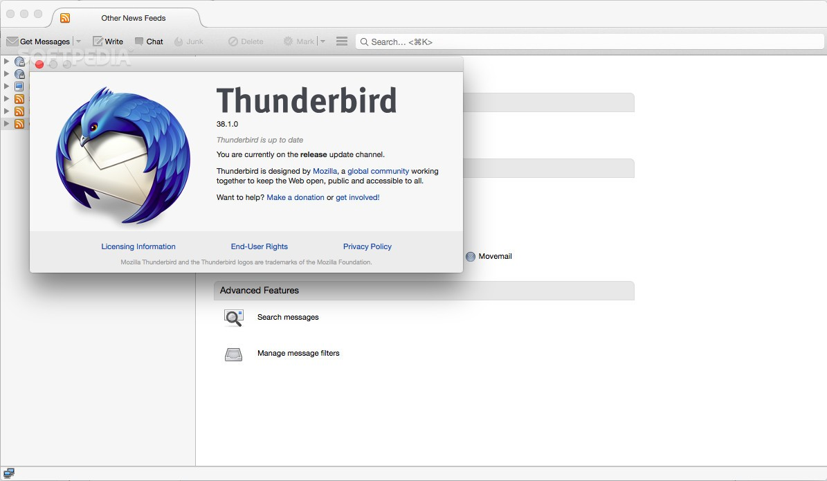 mozilla thunderbird how to turn on smtp authentication