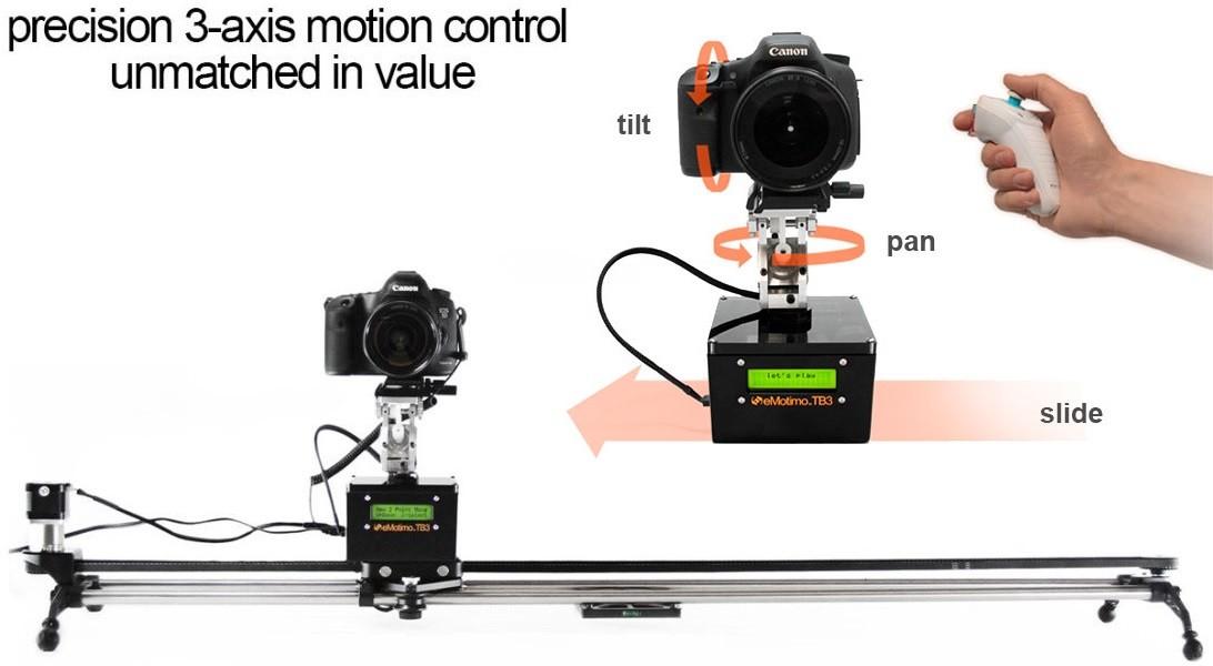 eMotimo TB3 Black Motion Control Robot Driver (2019)