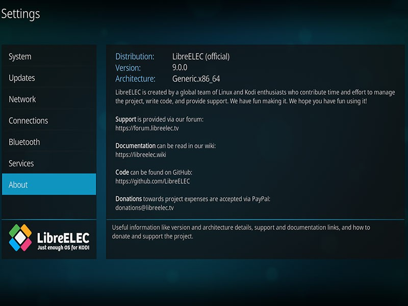 Embedded Linux OS LibreELEC 9 0 1 Is Out with Kodi 18 1 and Linux