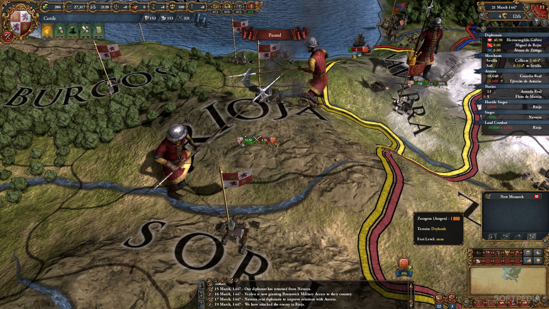 Europa Universalis IV - Mare Nostrum Review (PC)