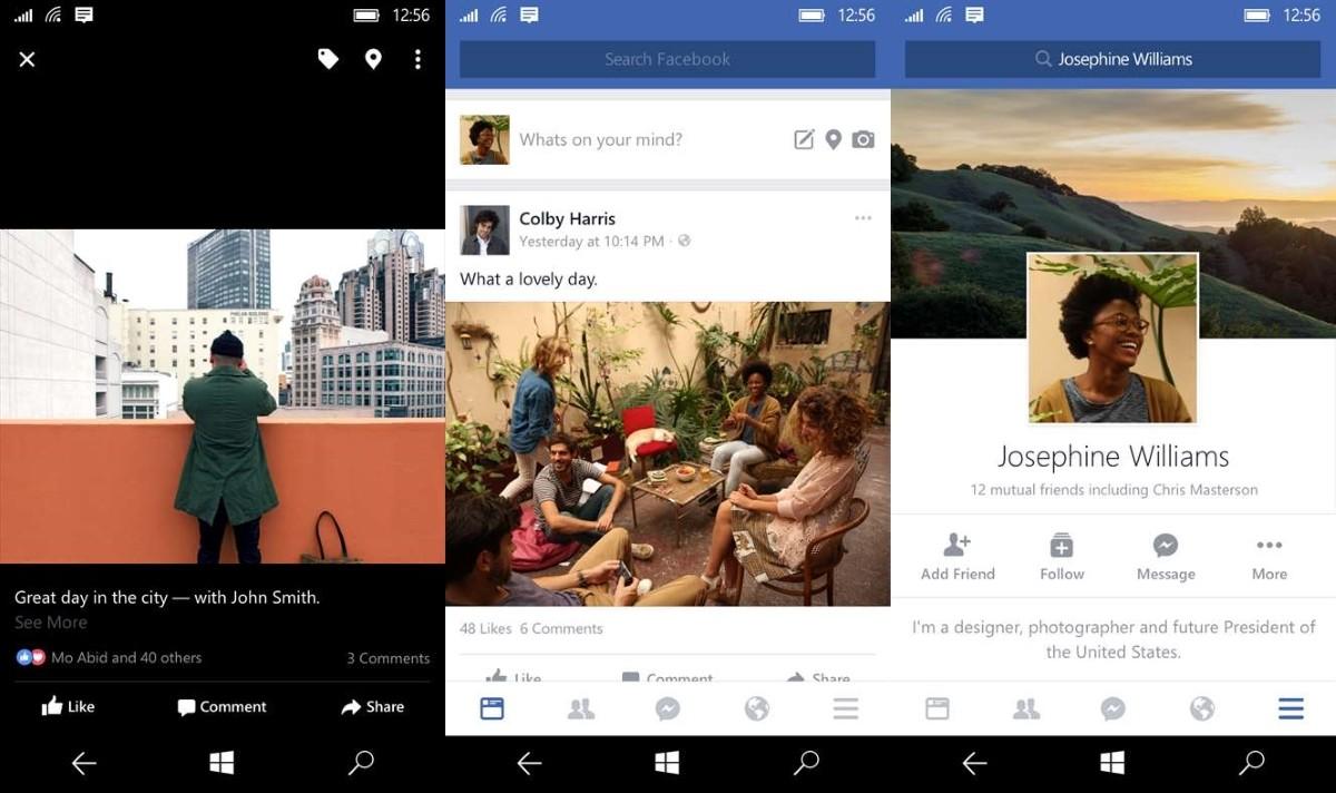 download facebook app for windows phone