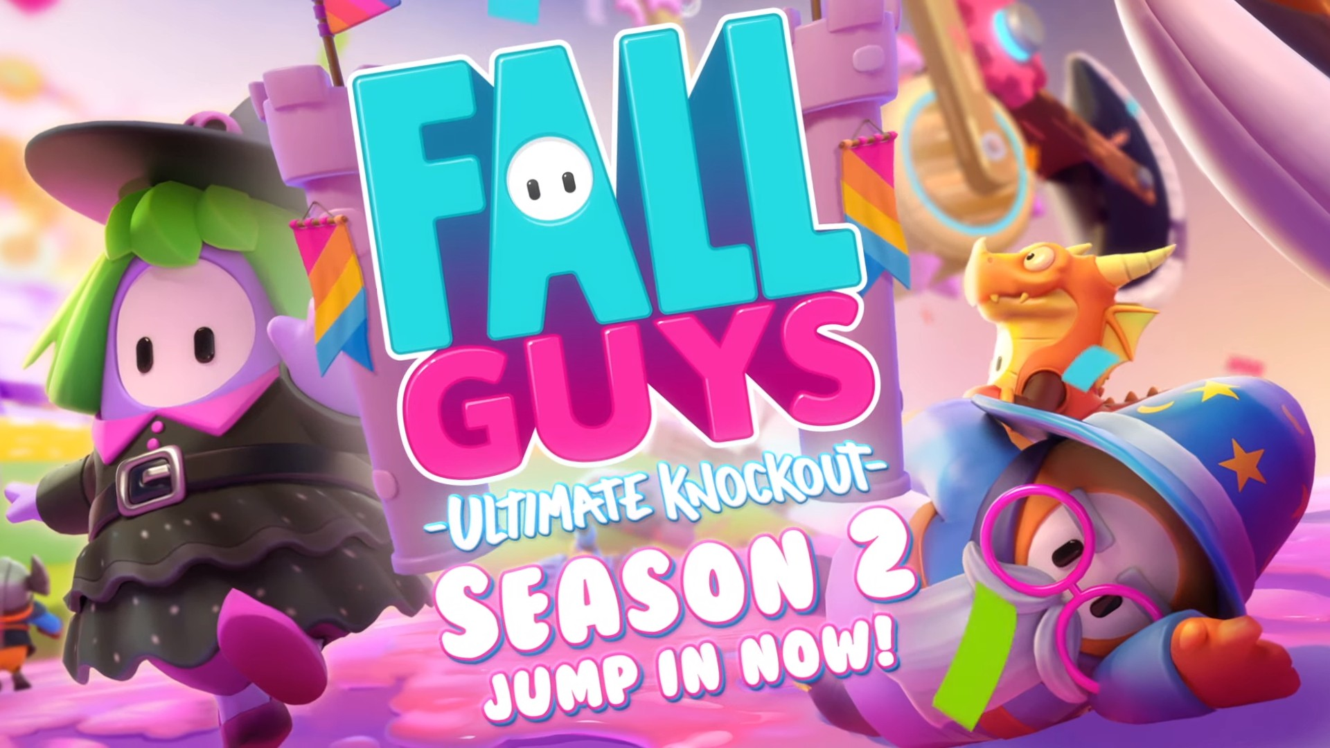 The best and worst new levels added in Fall Guys Season 2
