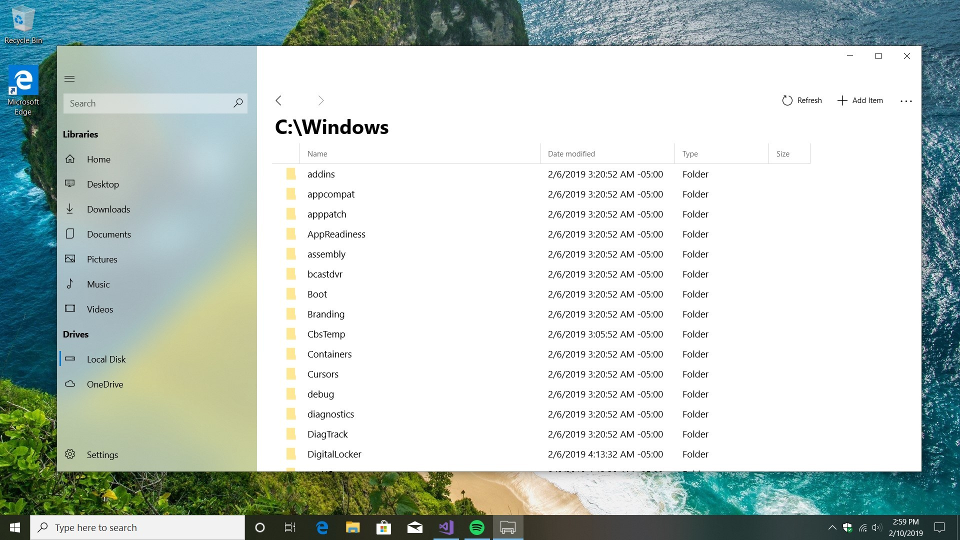 files uwp is the windows 10 file explorer microsoft never