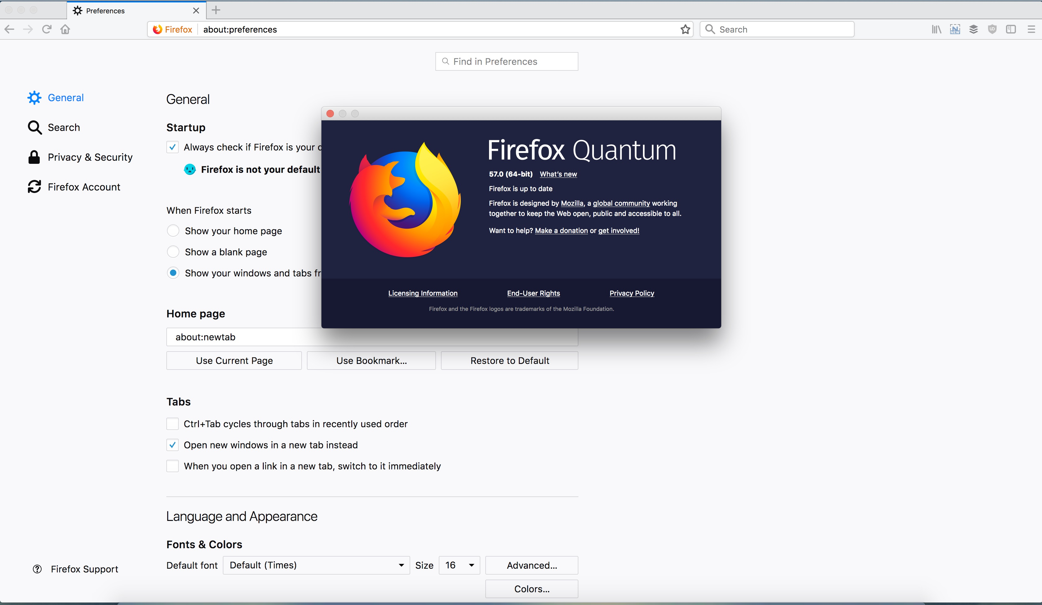 "Firefox Quantum Review >> Firefox 57 ""Quantum"" Web Browser Now Available to Download, Here's What's New"