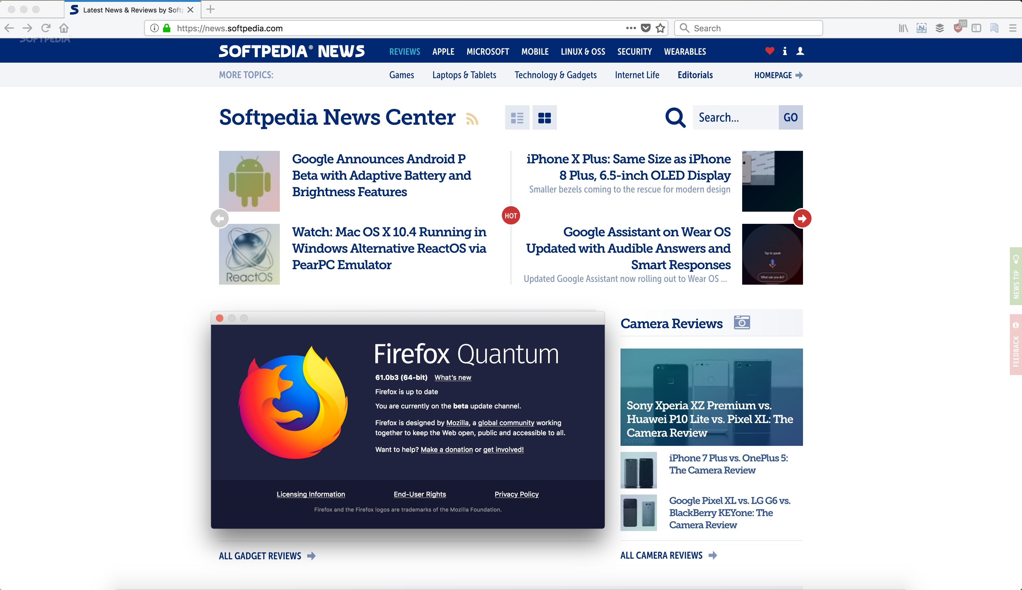 Firefox 61 Enters Development with Faster Tab Switching on