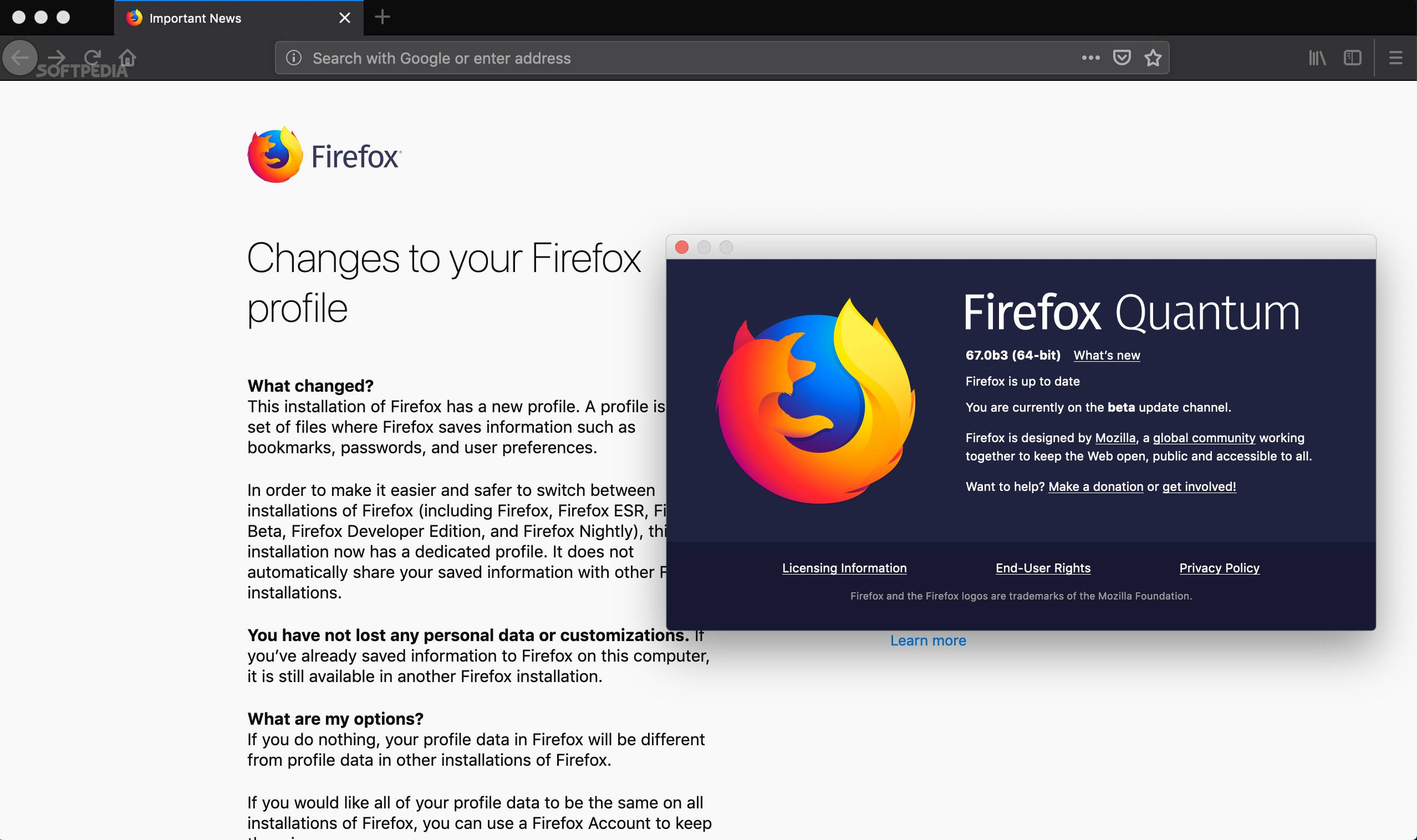 Firefox 67 Will Add Support for Running Different Firefox