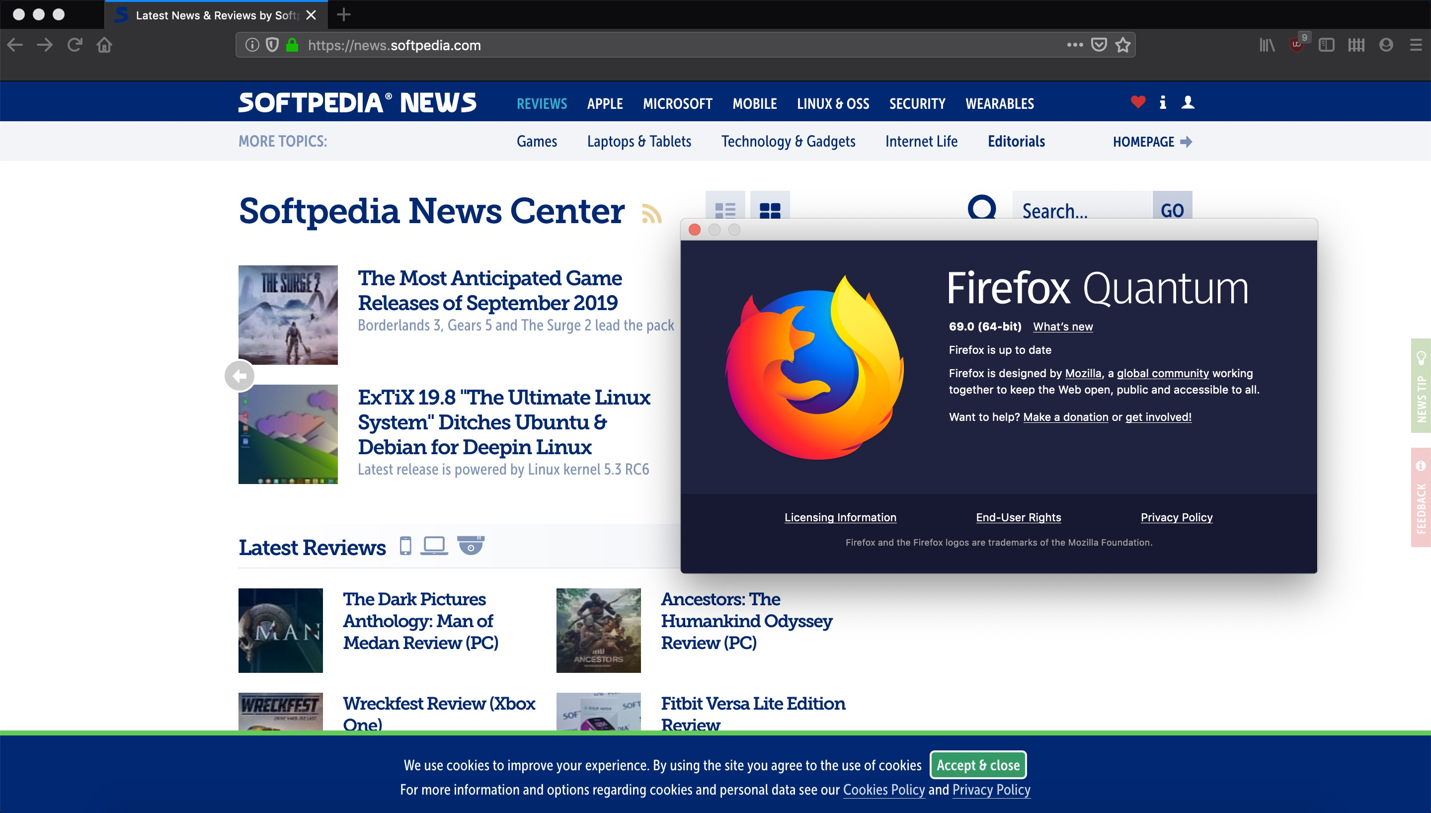 Firefox 69 Is Out with Enhanced Tracking Protection for