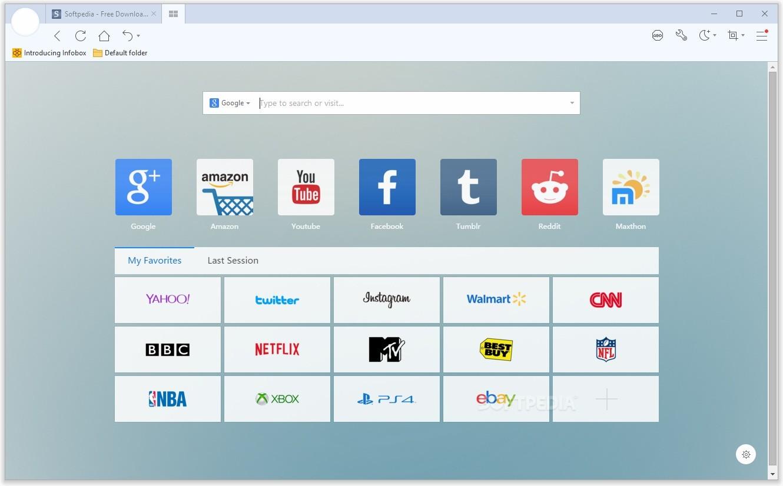 Maxthon 6.1.0.2200 Free Download (Chromium Browser)