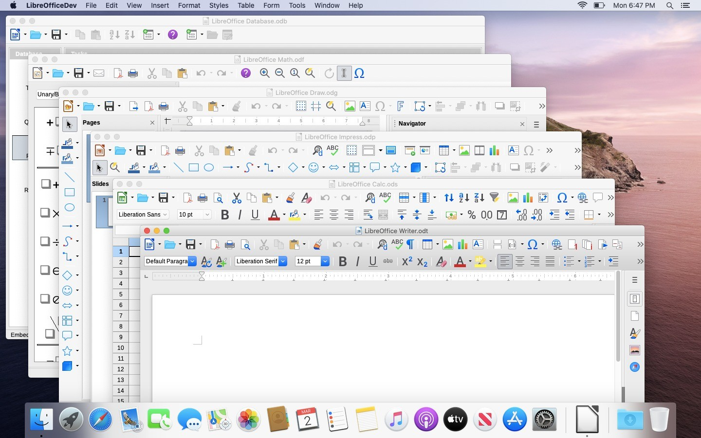 Libre office for windows10