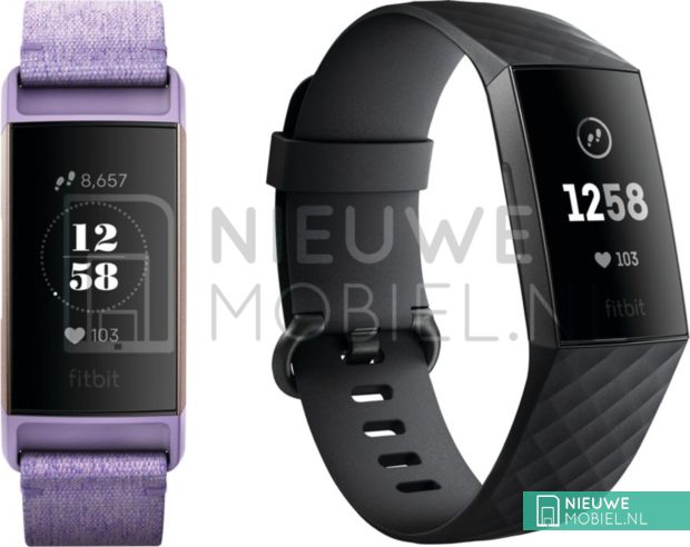 Fitbit Charge 3 Design Leaked