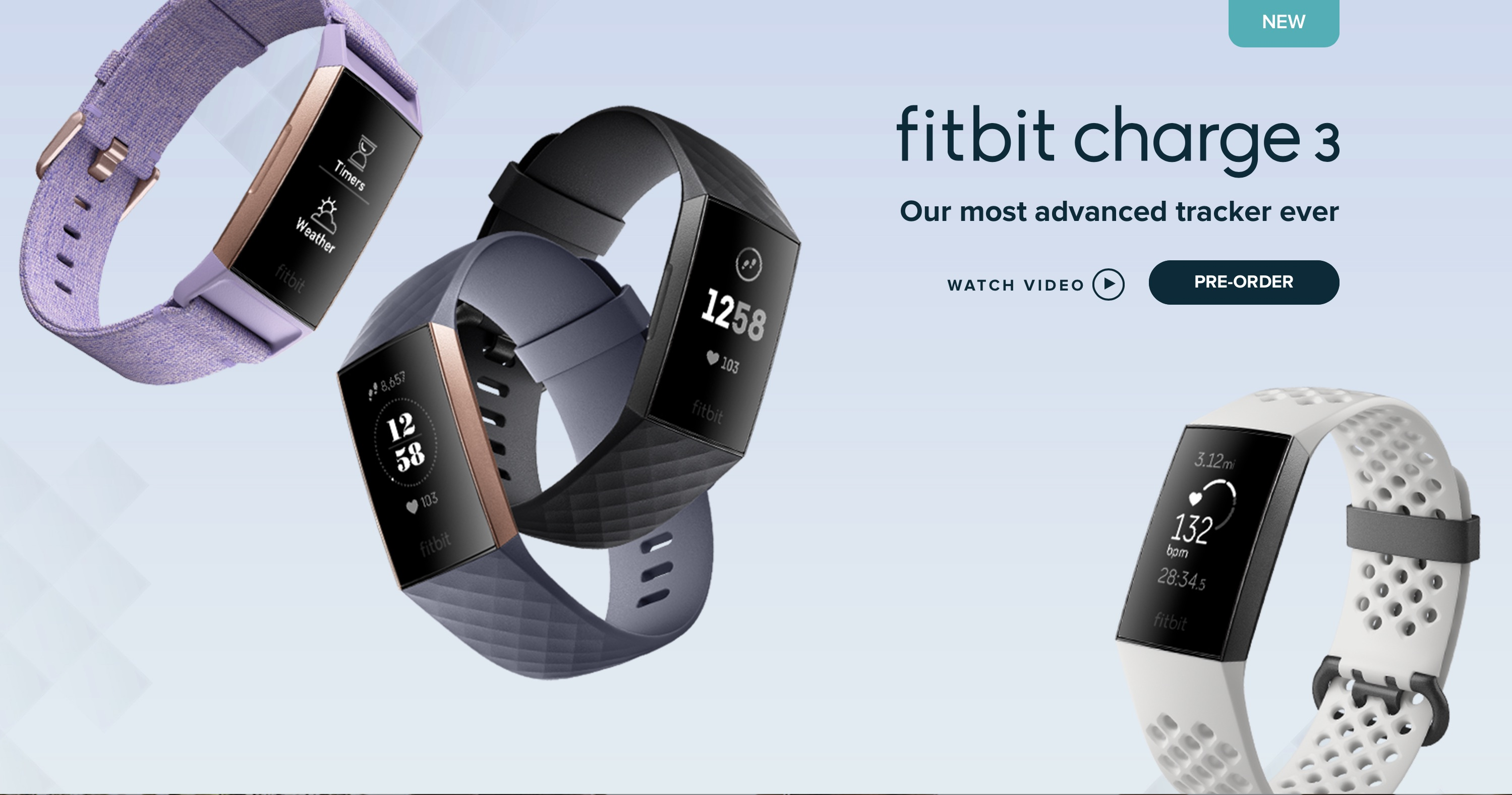 fitbit charge 3 unveiled as fitbit s most advanced health fitness