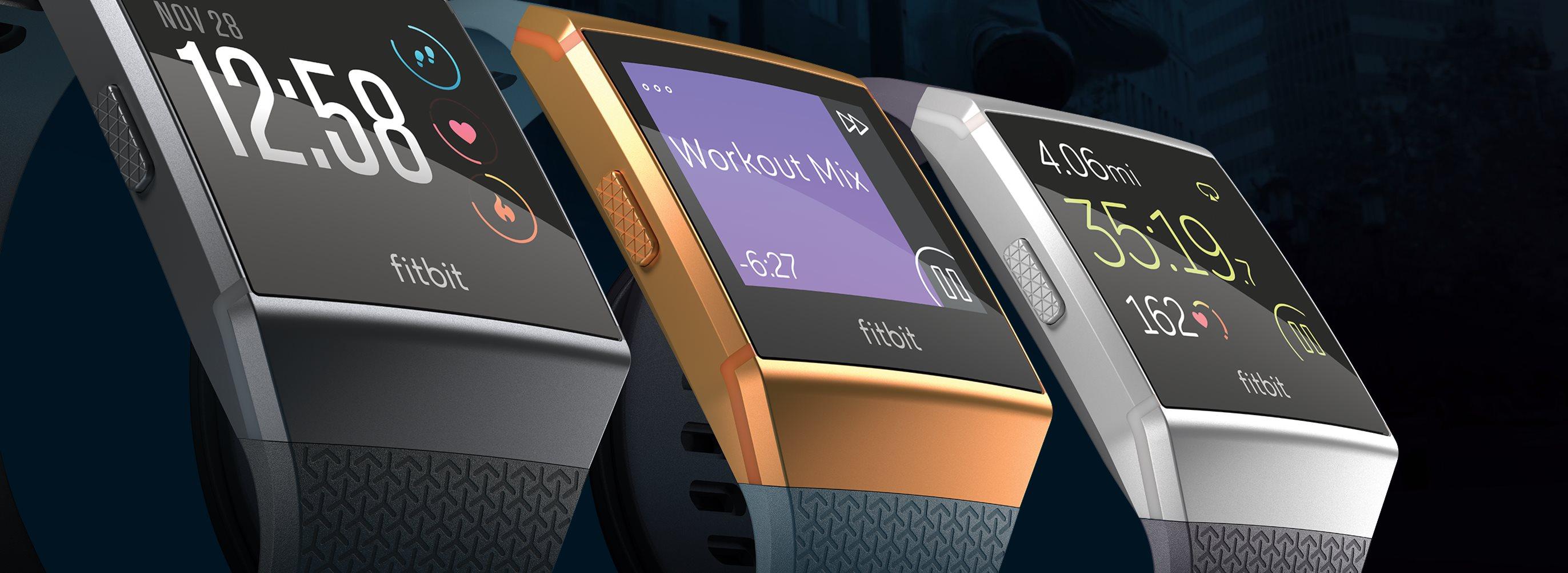 Fitbit's Ionic Smartwatch and Flyer Wireless Headphones