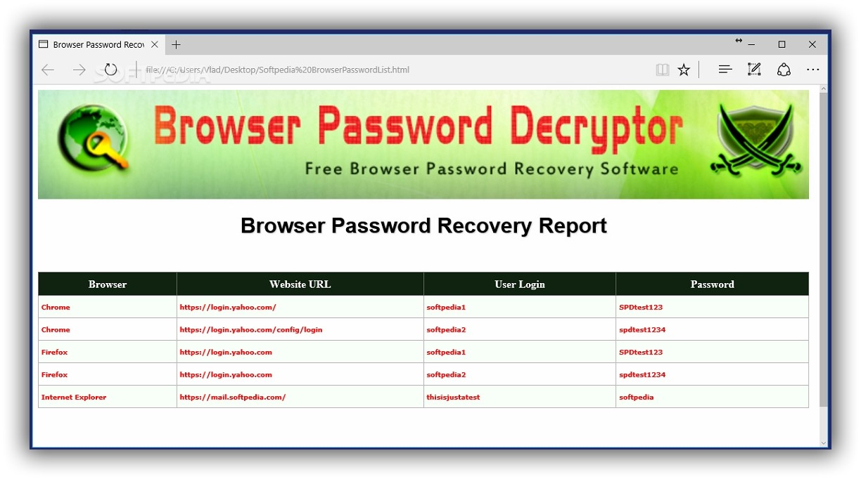 Forgot Password? Try to Recover It from the Browser Before