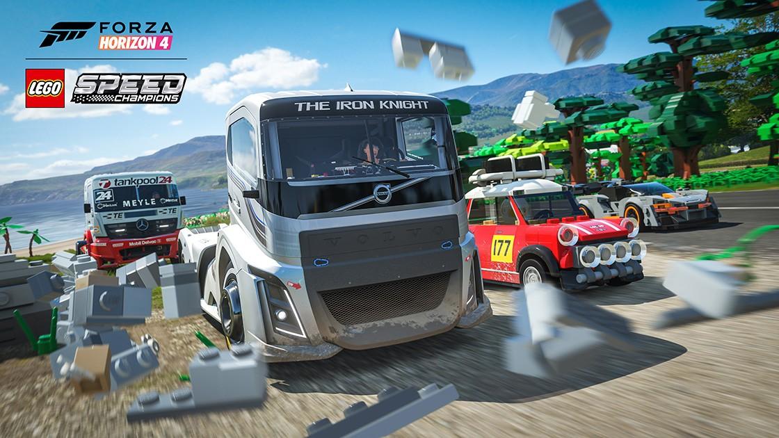 Forza Horizon 4 LEGO Speed Champions Expansion Races on PC
