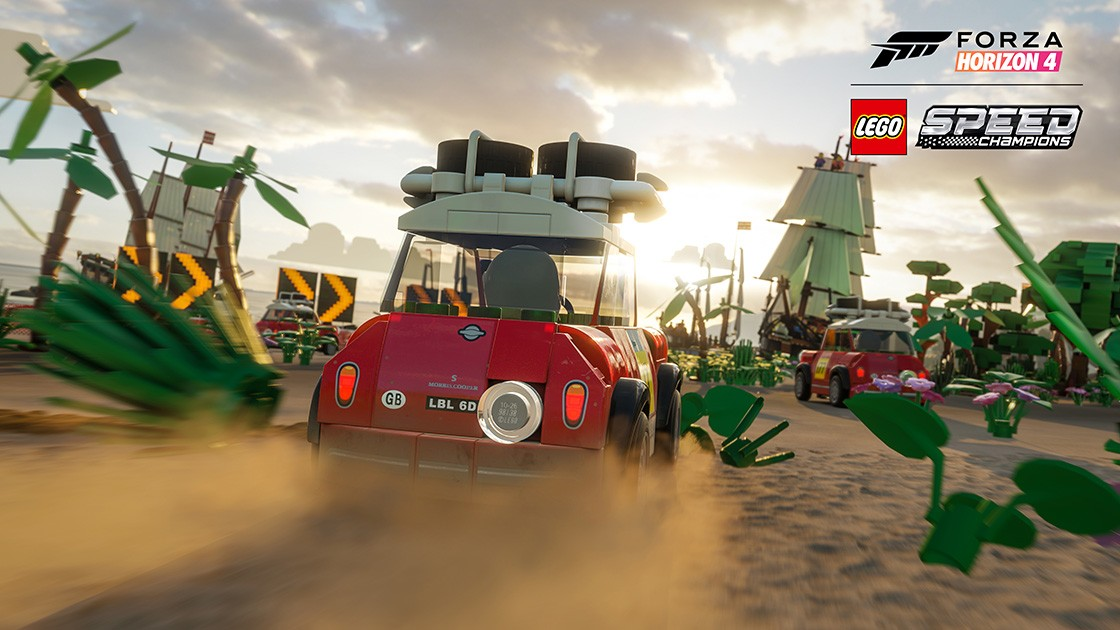 Forza Horizon 4 LEGO Speed Champions Expansion Races on PC and Xbox One