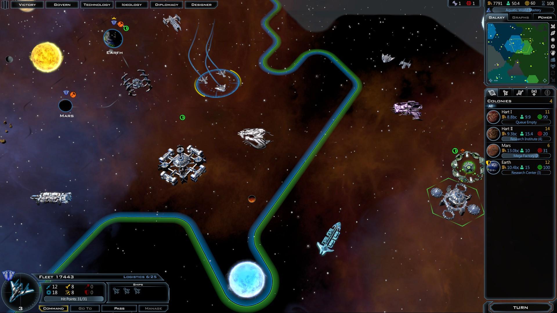 Galactic Civilizations 3 Startet Nicht
