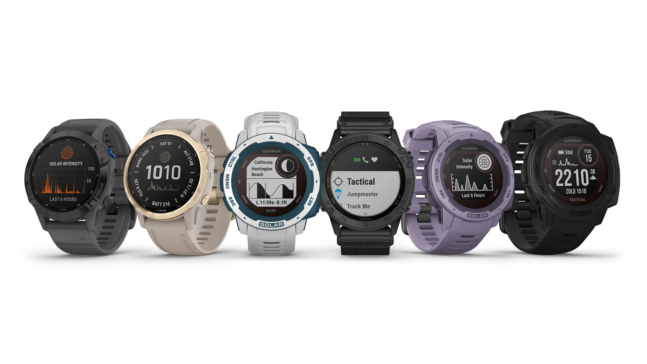 Garmin launches new Instinct and Fenix 6 Solar editions