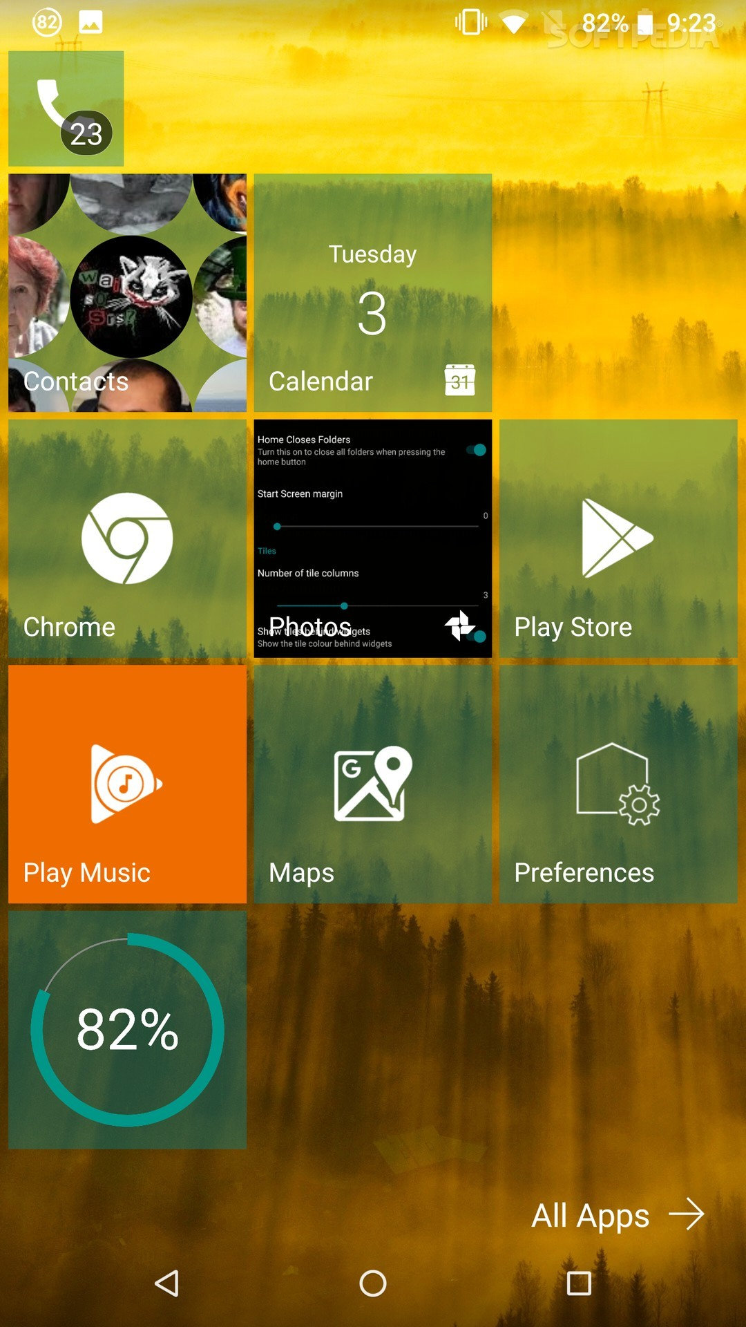 Get Windows Phone Live Tiles on Android with Launcher 10