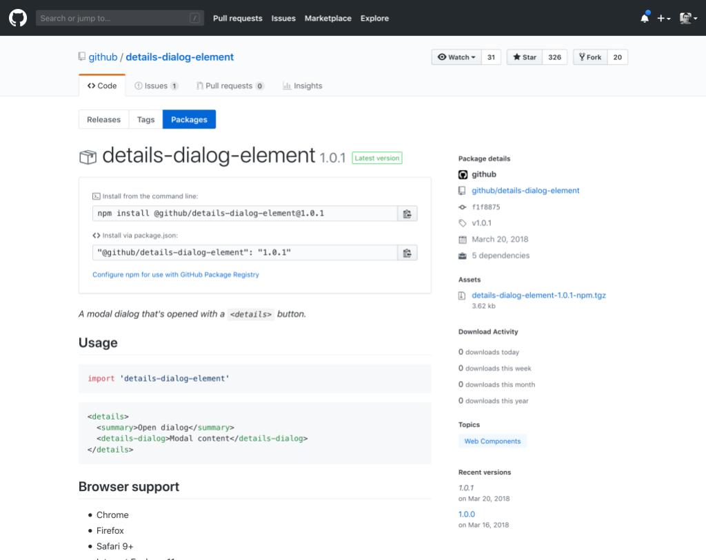 GitHub Announces GitHub Package Registry