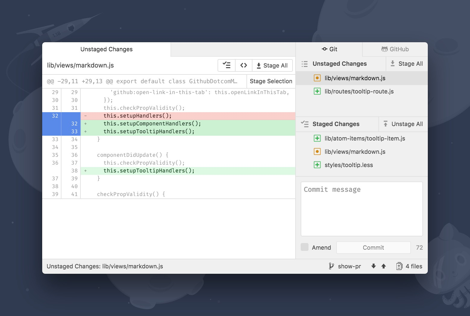 GitHub Improves Launching of Its Atom Editor from Windows