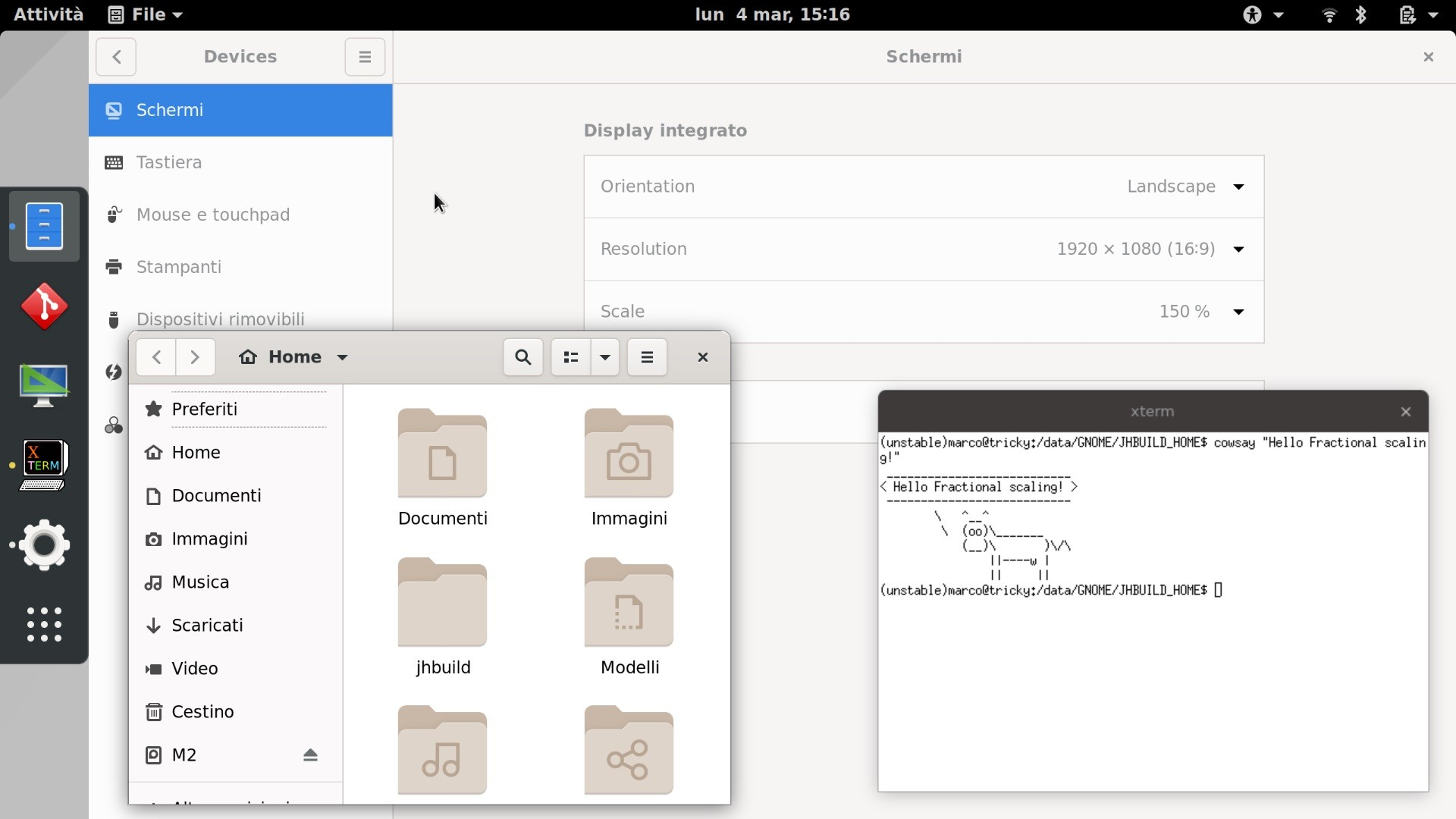 GNOME 3 32 Desktop Environment to Feature Fractional Scaling on Wayland