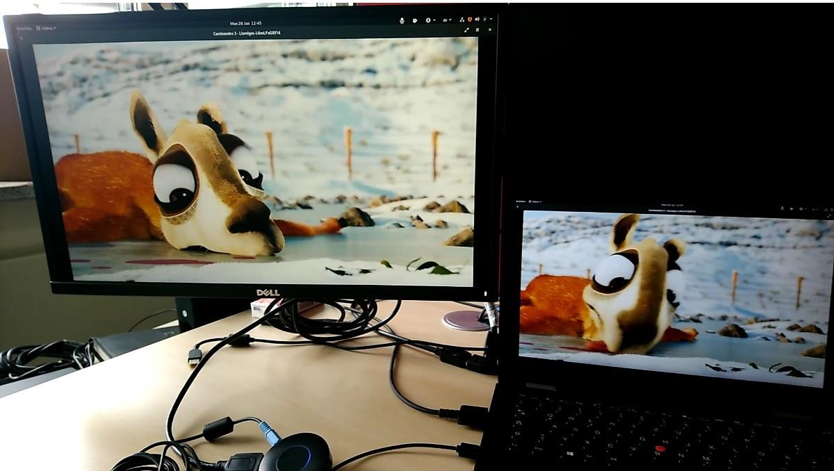 GNOME Screencaster App Promises WiFi Display (Miracast