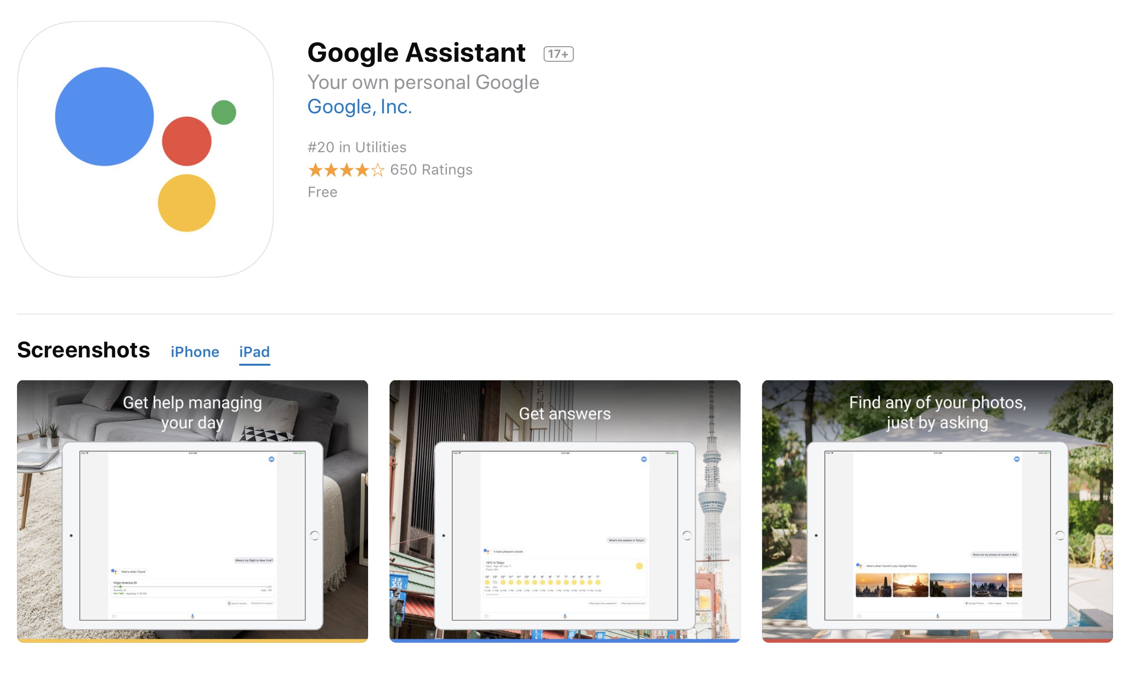 Google Brings The Full Google Assistant Experience To Apple S Ipad