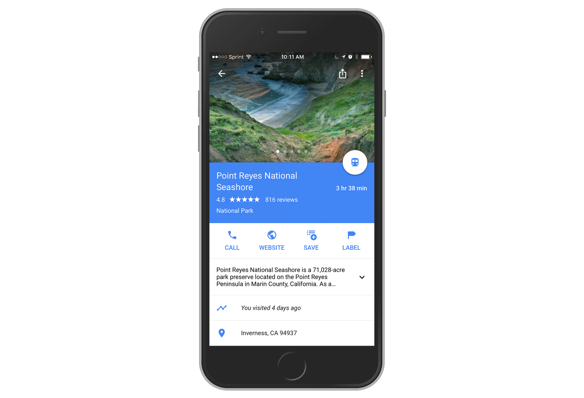 Google Brings Timeline Feature to Its Maps App for iOS