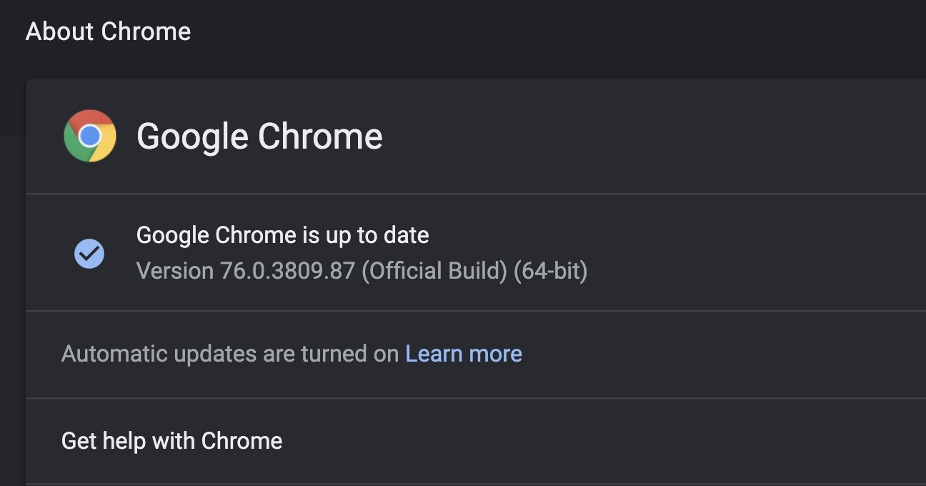 Google Chrome 76 Released for Linux, Windows, and Mac with