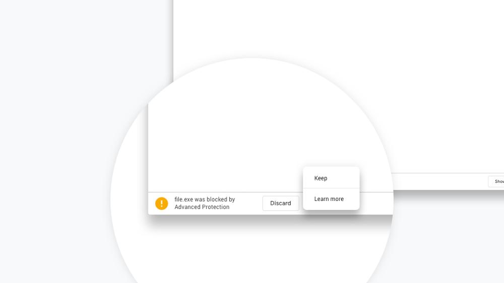 Google Chrome's Latest Security Feature Blocks Dangerous Downloads
