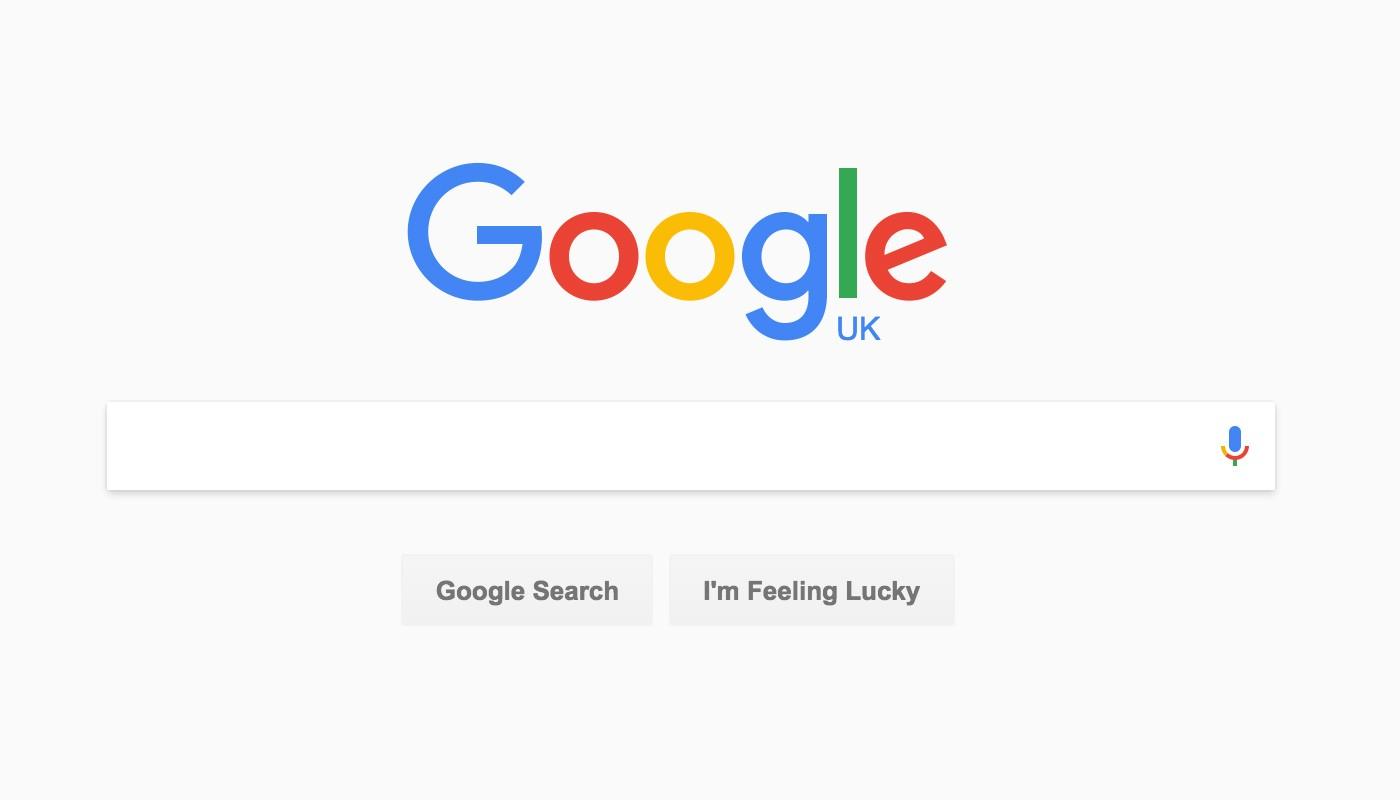 New Google Search Desktop Material Design UI