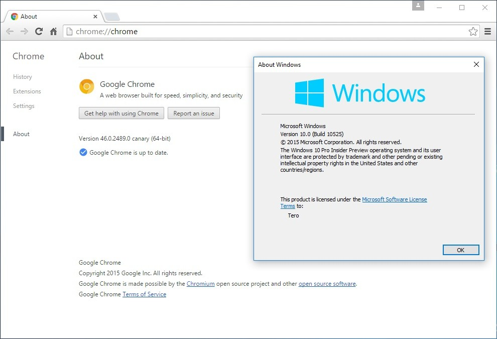 Google Fixes Chrome Issues in Windows 10 with Canary Update