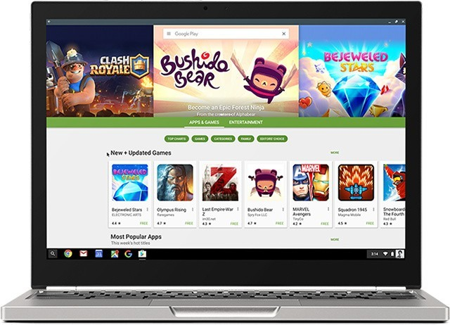 Google Just Added Support for Android Apps to More Chromebooks