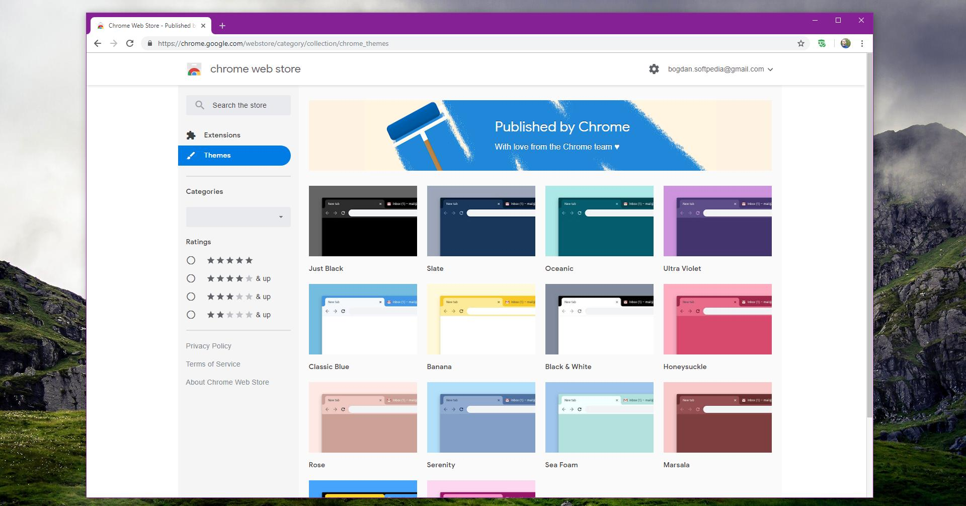 Google Launches New Free Themes for Google Chrome Browser
