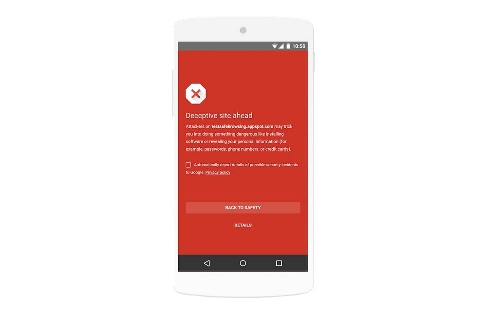 Google Makes Safe Browsing Enabled By Default In Android Apps - Android app privacy policy template