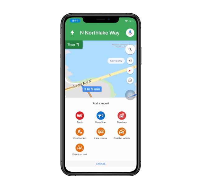 Google Maps Gets the Best Feature of Waze on iPhone on java maps, campground site maps, red-flag icon for maps, waze maps, best smartphone maps, 1920 x 1080 maps, blackberry maps, home maps, adobe illustrator maps, motorcycle track maps, top 10 maps, ipad maps, os x mavericks maps, the earliest maps, online maps, facebook maps, best game maps,