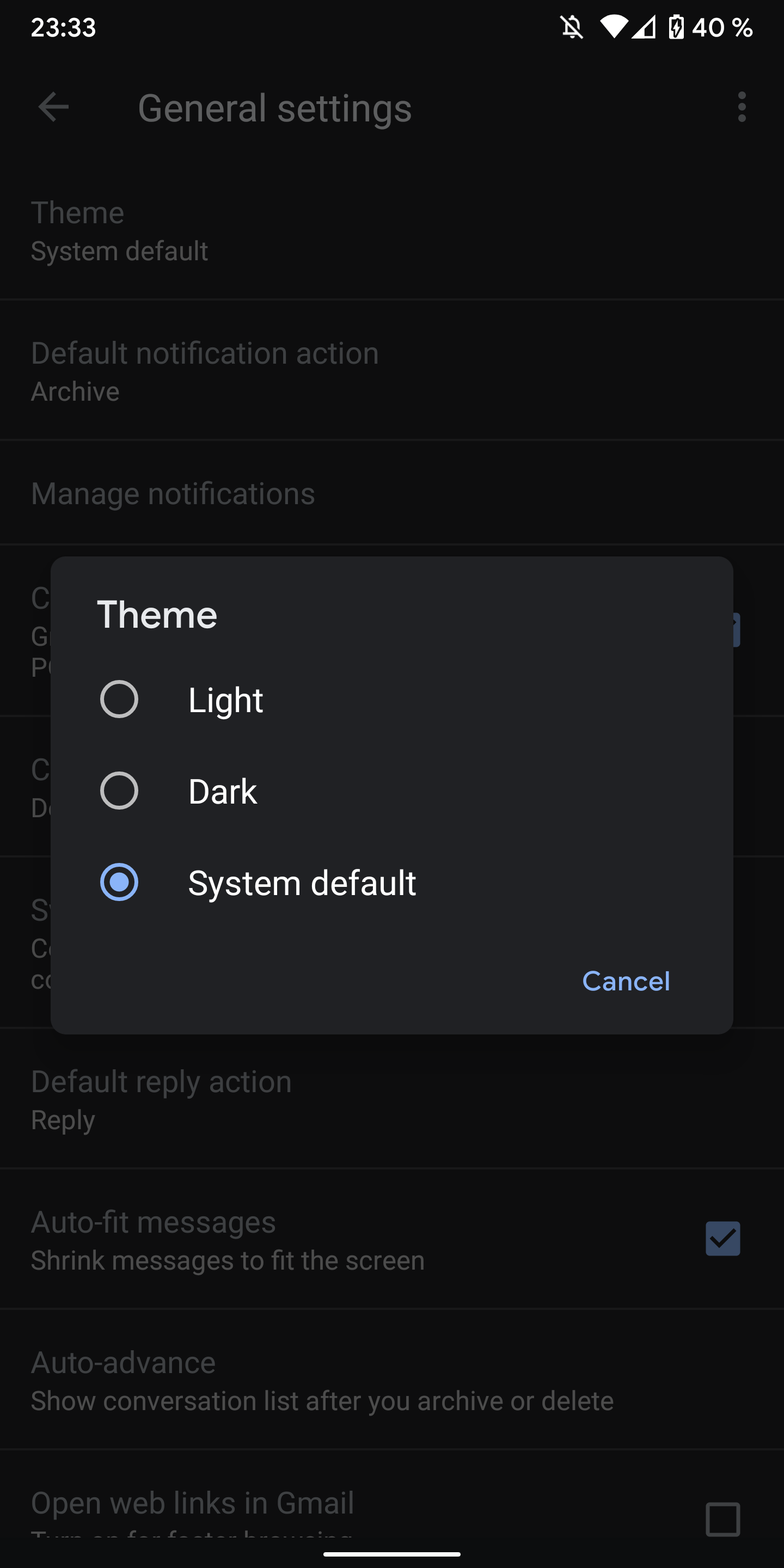 Google Releases Dark Mode For Gmail App On Android