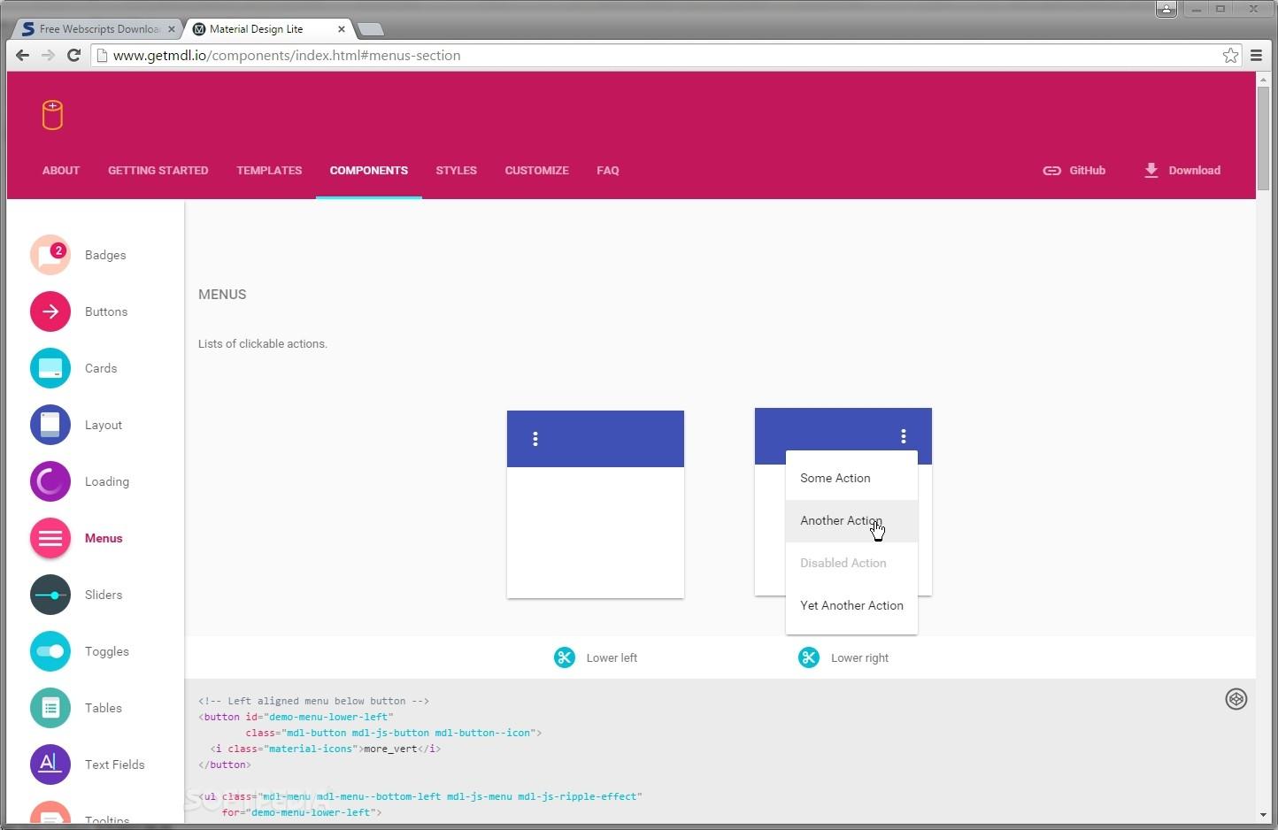 Apa Itu Framework Material Design Lite ?