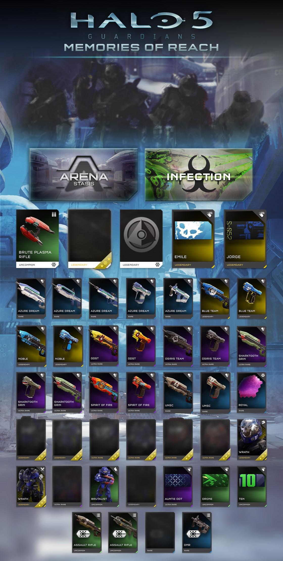 Halo 5: Guardians Reveals Memories of Reach REQs, New Weapon