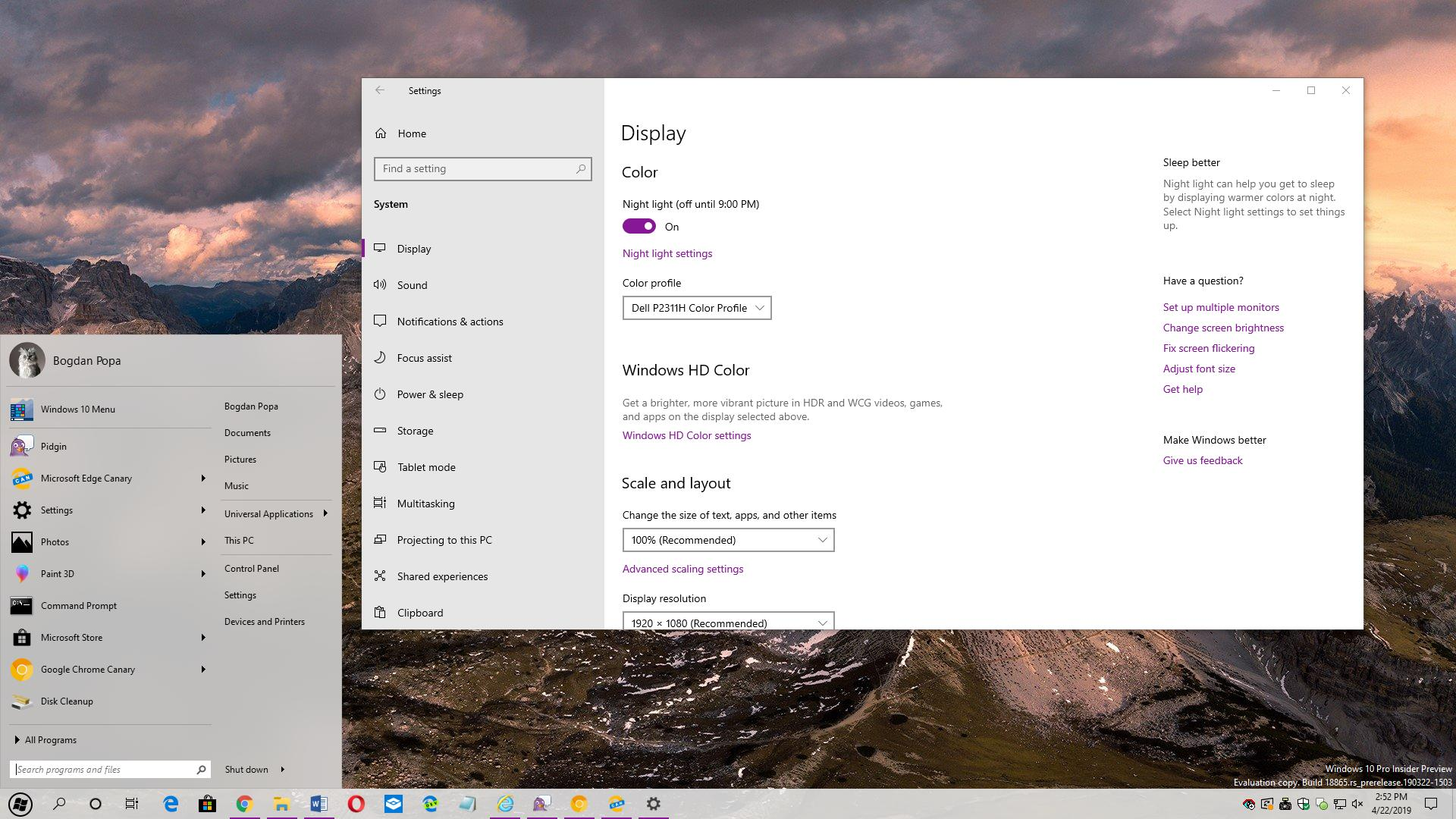 Hands-On with the First Start Menu App Optimized for Windows 10 May