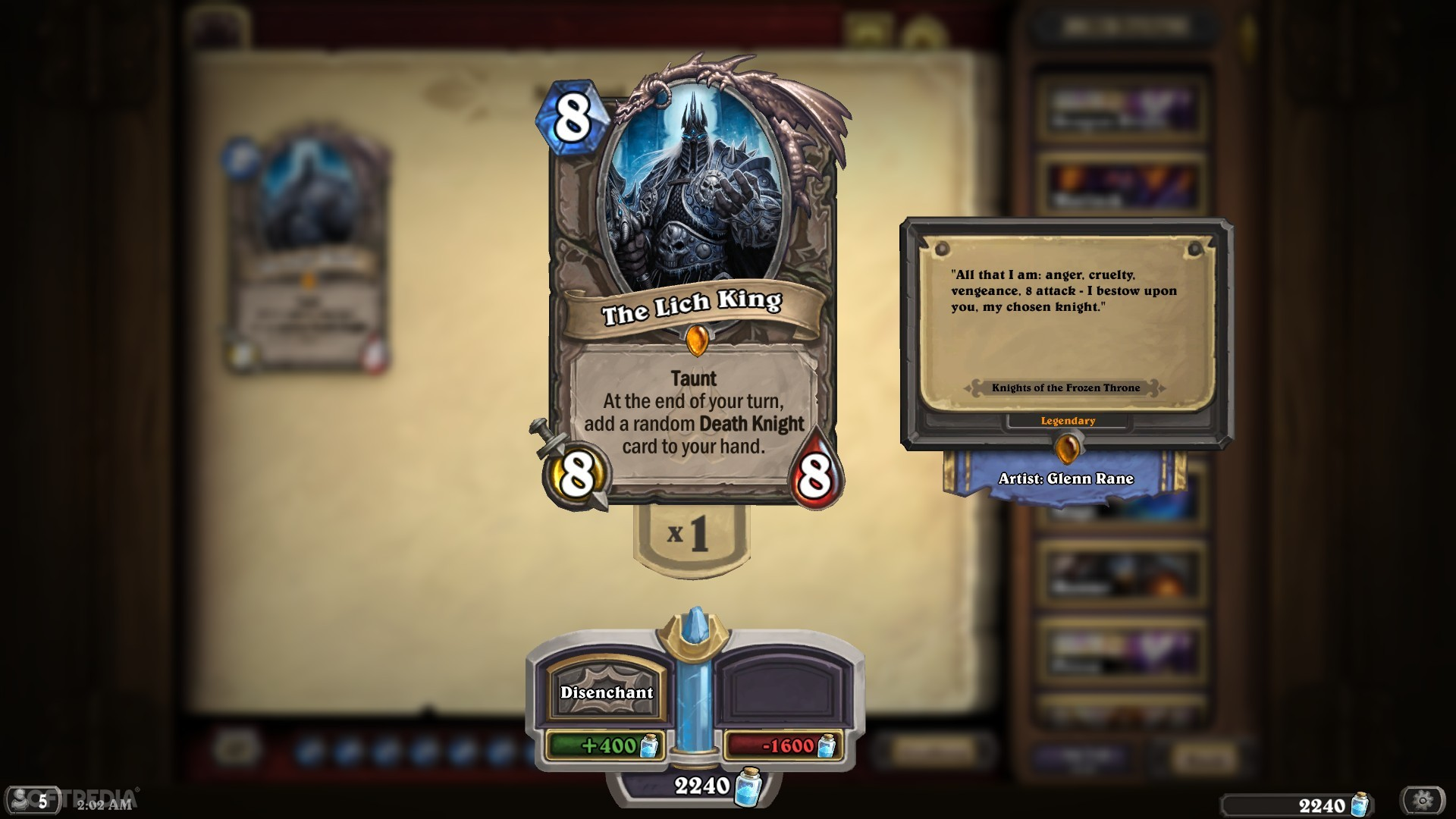 Hearthstone Knights Of The Frozen Throne Review