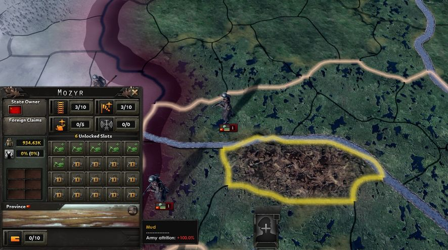 Hearts of Iron IV Details Terrain and Weather Systems