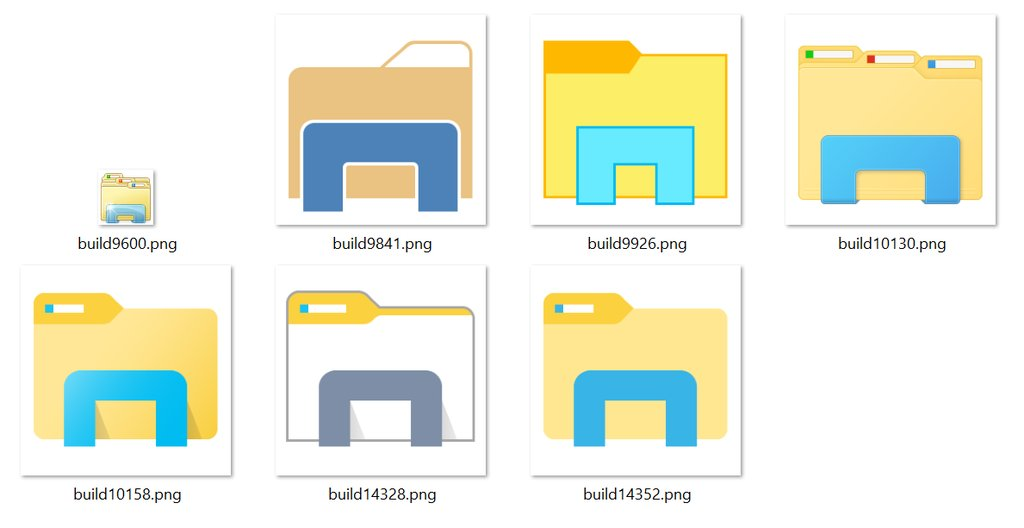 Here Are All Windows 10 File Explorer Icons, You Choose