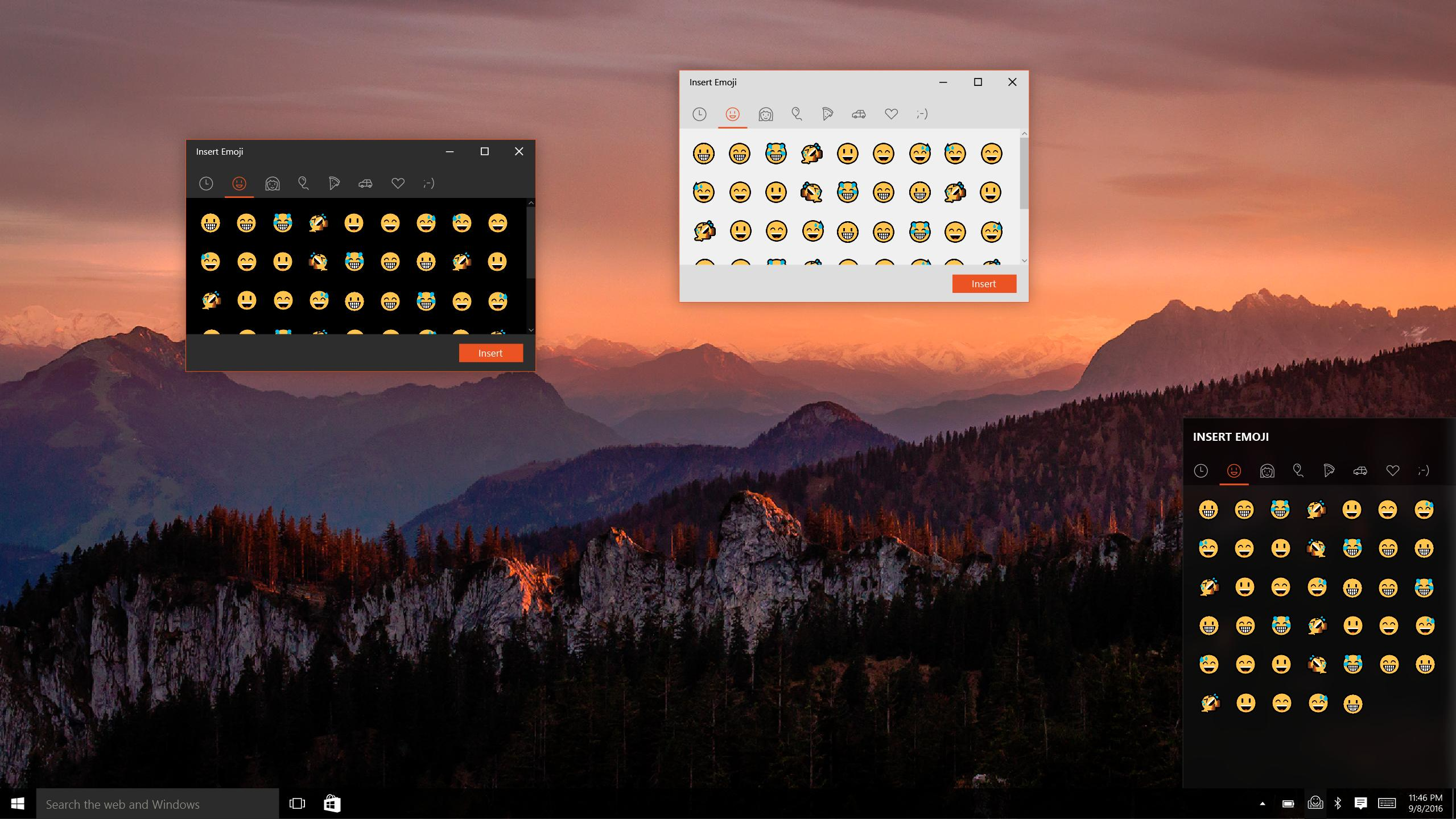 Here's How Windows 10 Emoji Could Work Without the Touch Keyboard