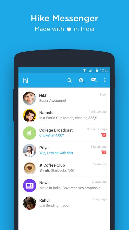Hike App Free Download - Hike Messenger App Latest Version Download