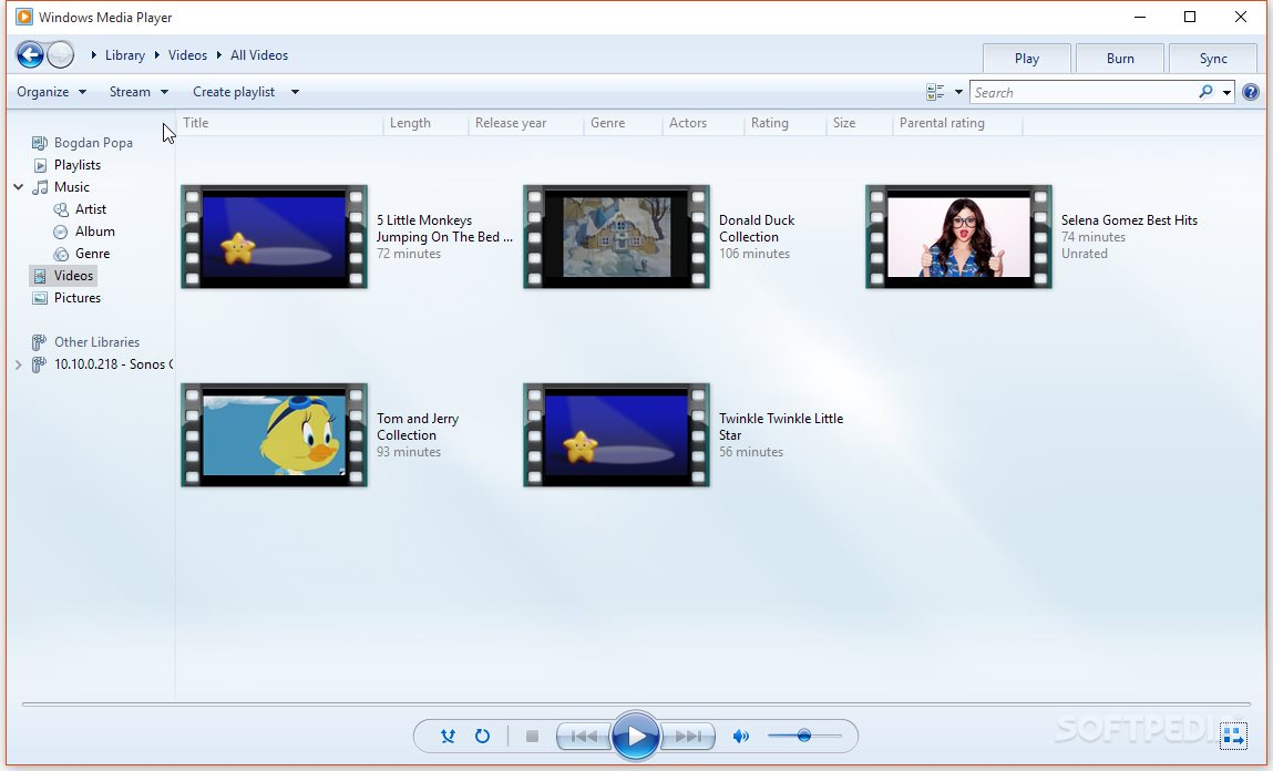 How About a New Media Player in Windows 10?