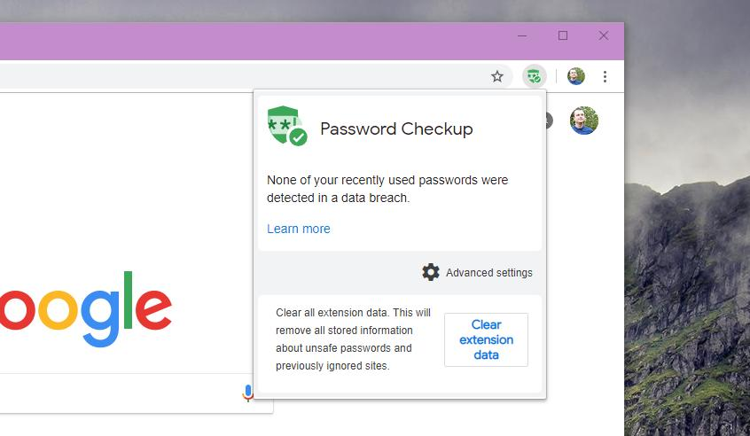 How Google Chrome's Password Checkup Extension Works