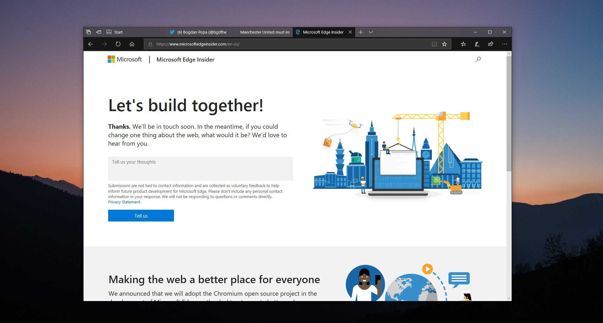 Microsoft Says the New Microsoft Edge Will Support All Google Chrome Extensions